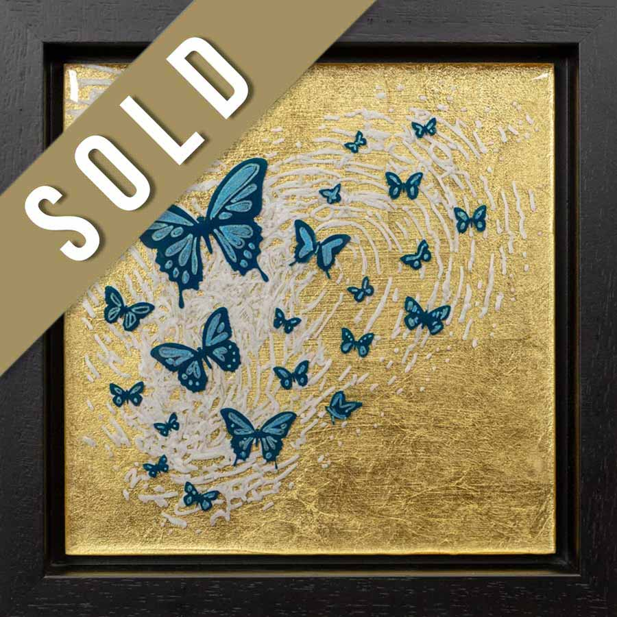 sold butterflies artwork
