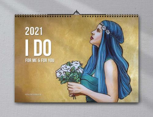My art calendar is back