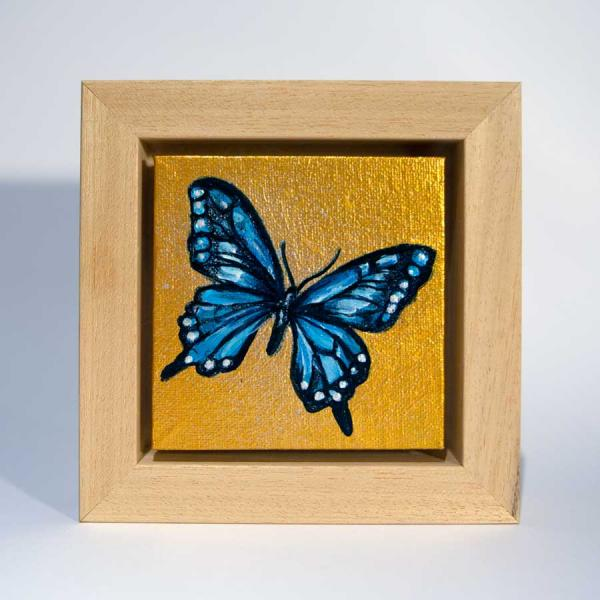 mini butterfly painting