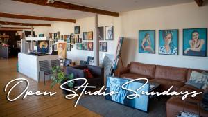 Open kunstenaar atelier