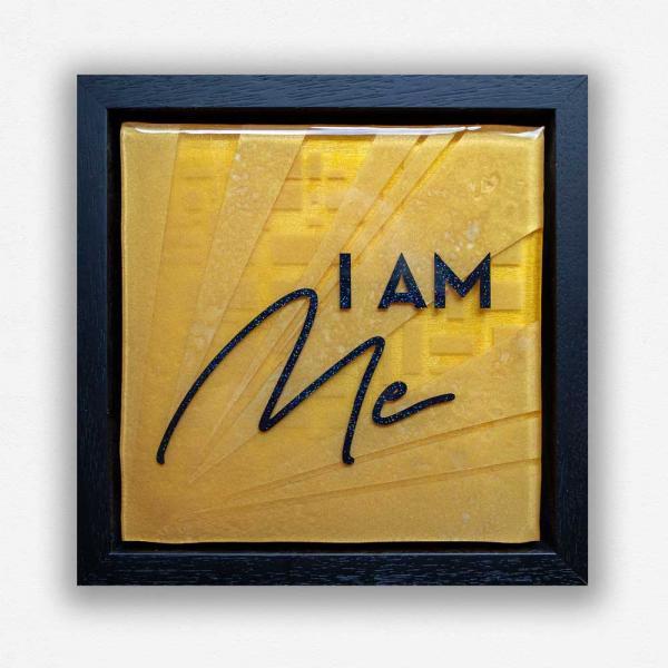 I am me - affirmation artwork