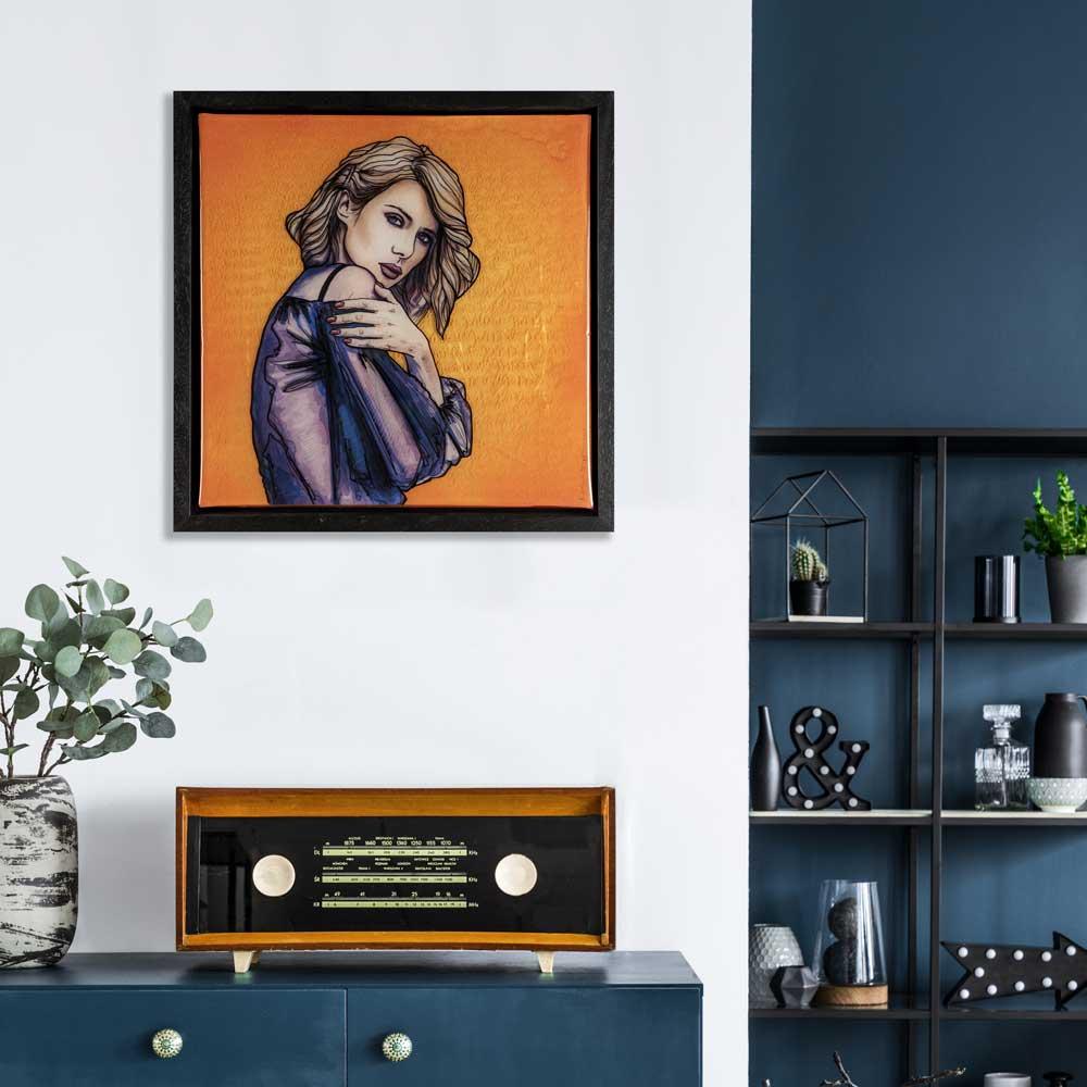 Figurative art in interior