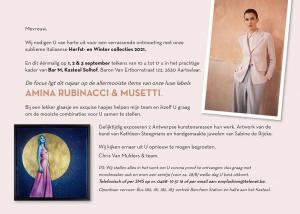 mode & kunst, sloof, bar M, Aartselaar