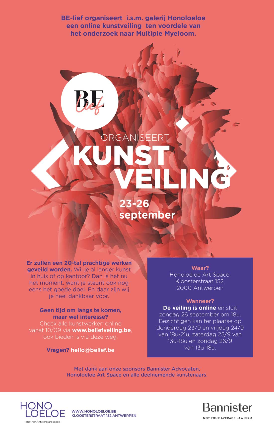 Online Kunstveiling_Antwerpen Galerij honoloeloe